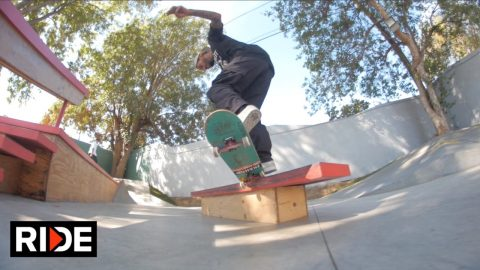Manny Santiago's House Skatepark Check - RIDE Channel