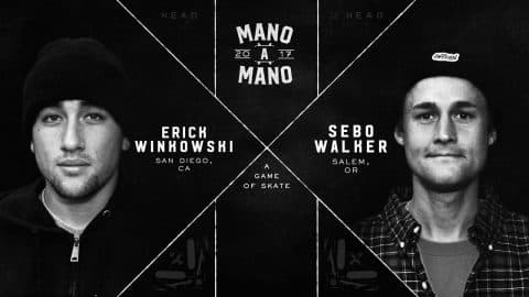 Mano A Mano 2017 - Final: Erick Winkowski vs. Sebo Walker - Woodward Camp