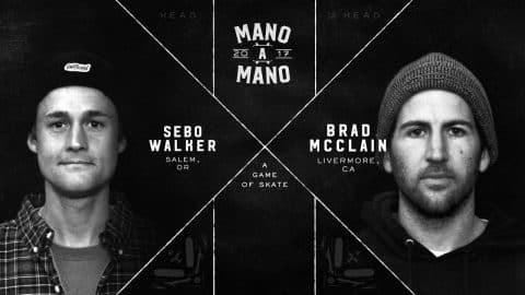 Mano A Mano 2017 - Round 2: Sebo Walker vs. Brad McClain - Woodward Camp