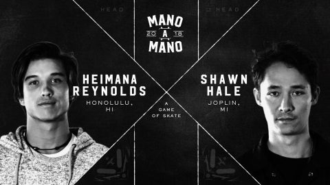 Mano A Mano 2018 - Round 1: Heimana Reynolds vs. Shawn Hale - Woodward Camp