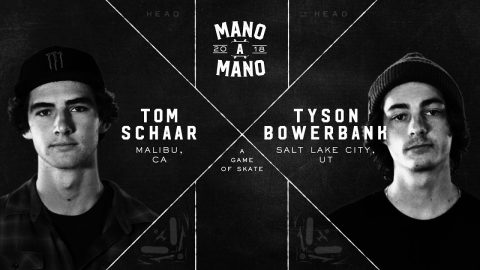 Mano A Mano 2018 - Round 2: Tom Schaar vs. Tyson Bowerbank - Woodward Camp