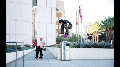 Manolo captures Tom Asta skating LA in the éS  SWIFT 1.5 - esskateboarding