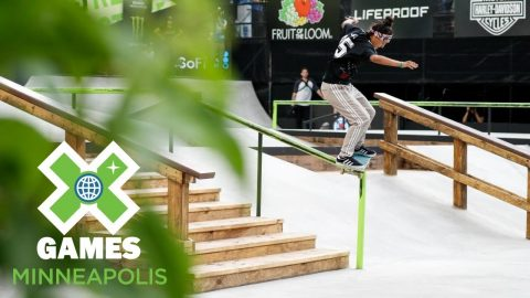 Mariah Duran qualifies first in Women's Skateboard Street | X Games Minneapolis 2018 | X Games