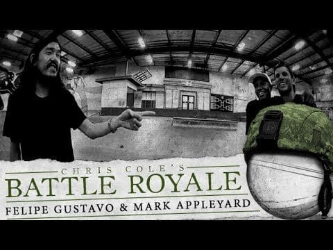 Mark Appleyard & Felipe Gustavo - Battle Royale - The Berrics