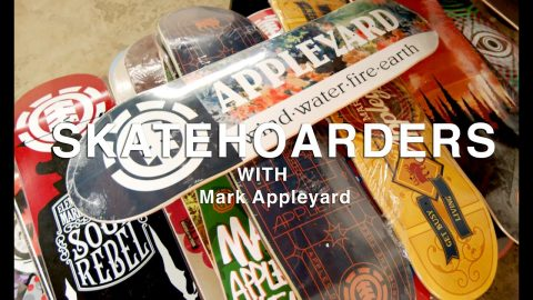Mark Appleyard's Skateboard Collection & More | SkateHoarders | Season 2 Ep 5 | TransWorld SKATEboarding