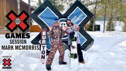MARK McMORRIS: X Games Session | X Games