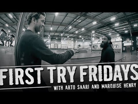 Marquise Henry - First Try Friday - The Berrics
