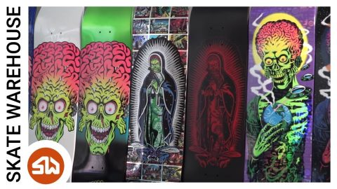 Mars Attacks x Santa Cruz First Look - Skate Warehouse