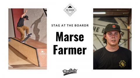 Marse Farmer in Stag at The Boardr Presented by Marinela | TheBoardr