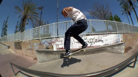 Mason Silva Mobbin' Around at Paramount Skatepark | Mob Grip