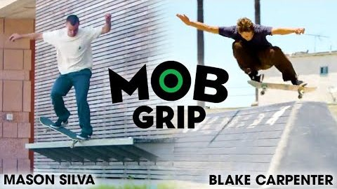 Mason Silva Skates Wilmington w/ Blake Carpenter | Mob Grip