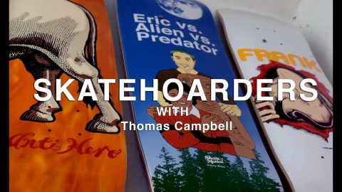 Massive & Unique Skateboard Collection | Thomas Campbell | SkateHoarders SE3 EP1 | TransWorld SKATEboarding