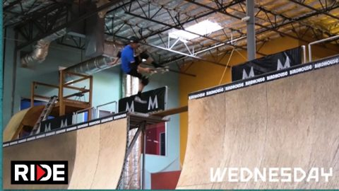 MasterClass presents Tony Hawk's NBD/Best Trick Challenge: Day 1 | RIDE Channel