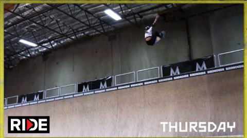 MasterClass Presents Tony Hawk's NBD/Best Trick Challenge: Day 2 | RIDE Channel