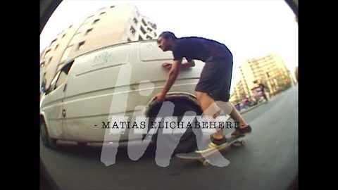 Matias Elichabehere /skate part - LIVE skateboard media