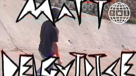 Matt Delguidice, Mohkie 2 Part | TransWorld SKATEboarding