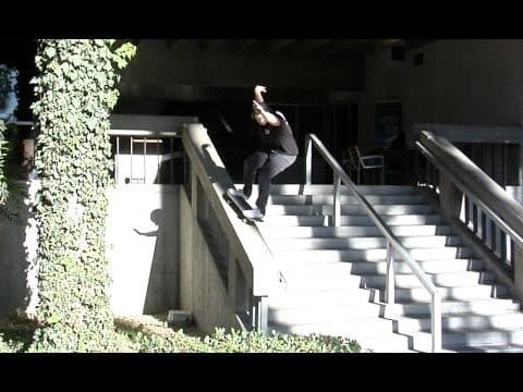 Matt Lane fs Grind 14 Hubba Raw Uncut - E. Clavel