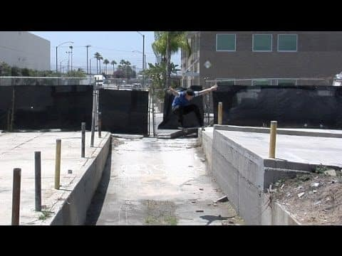 Matt Lane Ollie Up Long Beach Gap Raw Uncut - E. Clavel