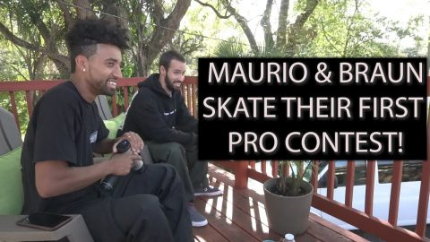 Maurio & Braun skate in their first Pro Contest // Tampa Pro 2019 | Santa Cruz Skateboards