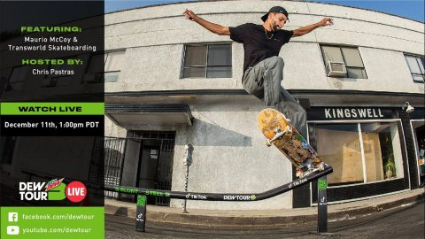 Maurio McCoy | Dew Tour Live Episode 15 | Dew Tour