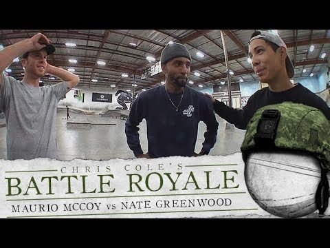 Maurio McCoy & Nate Greenwood - Battle Royale - The Berrics