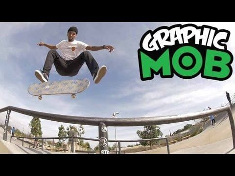 Maurio McCoy: Talkin' MOB at Stoner Plaza | CLEAR Graphic MOB x Santa Cruz Skateboards - Mob Grip