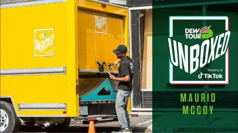 Maurio McCoy Unboxes a Massive Skate Feature Delivery | Dew Tour Unboxed Presented by TikTok | Dew Tour