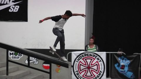 Maurio McCoy Winning Run - Damn Am LA Experience - Santa Cruz Skateboards