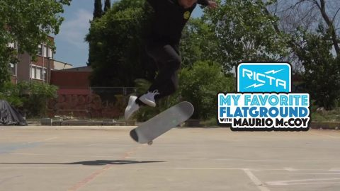 Maurio McCoy's Favorite Flatground Trick | Switch 360 Flip | Ricta Wheels