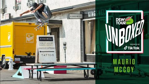 Maurio McCoy's Unboxed Episode 2: Full Edit | Unboxed presented by TikTok | Dew Tour