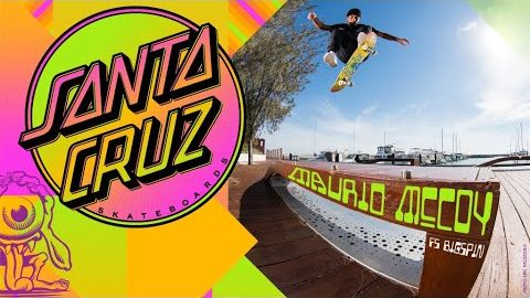 Maurio McCoy's VX Deck vs. The Water, Not Again?! | Santa Cruz Skateboards