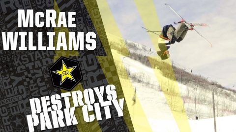 McRae Williams | Park City | Rockstar Energy