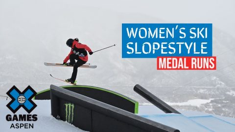 MEDAL RUNS: Jeep Women's Ski Slopestyle | X Games Aspen 2021 | X Games