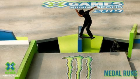 MEDAL RUNS: Men's Skateboard Street | X Games Minneapolis 2019 | X Games