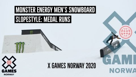 MEDAL RUNS: Monster Energy Men's Snowboard Slopestyle | X Games Norway 2020 | X Games