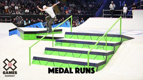 MEDAL RUNS: Women's Skateboard Street | X Games Norway 2019 | X Games