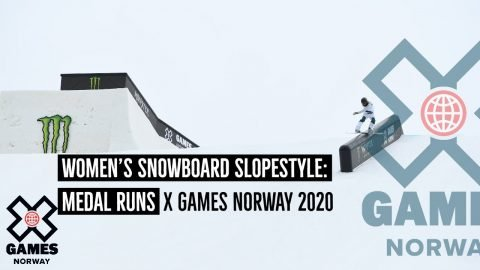 MEDAL RUNS: Women's Snowboard Slopestyle   X Games Norway 2020   X Games