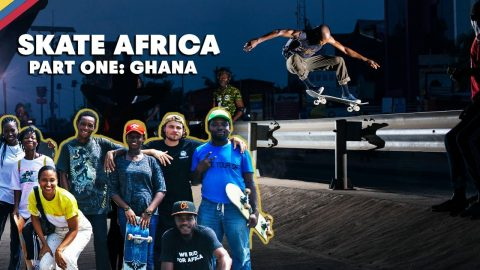 Meet The Local Skaters Of Ghana With Jaakko Ojanen & Crew | SKATE AFRICA | Red Bull Skateboarding