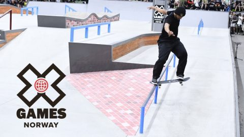 Men's Skateboard Street: FULL BROADCAST | X Games Norway 2018 - X Games