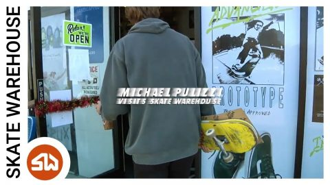 Michael Pulizzi and Friends Visit Skate Warehouse | Skate Warehouse