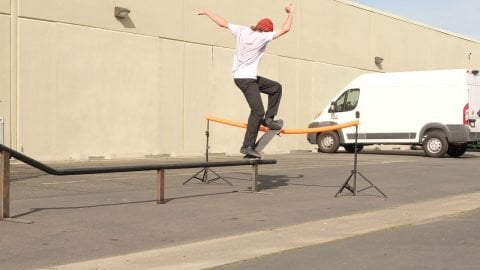 Michael Pulizzi COVID clips at Pizza HQ | Pizza Skateboards