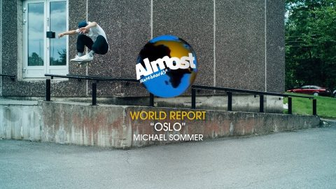 Michael Sommer | Almost World Report: Oslo - Almost Skateboards
