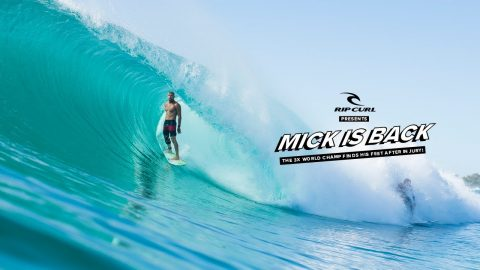 Mick Fanning is Back: The 3x World Champ Finds His Feet After Injury! | Rip Curl