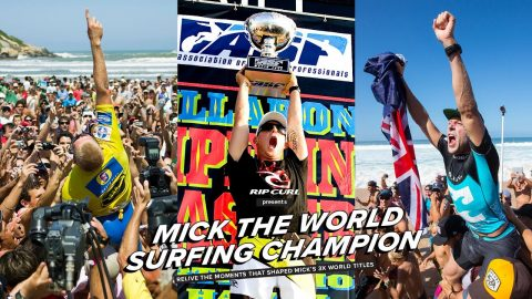 Mick Fanning the 3x World Surfing Champion | Rip Curl