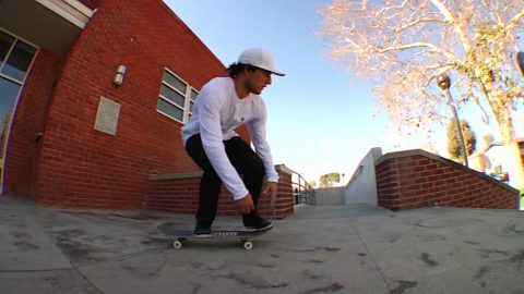 Micky Papa Nollie Inward Heelflip bs Tail Raw Cut | E. Clavel