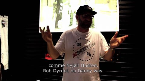 Mike Blabac Interview @Paris for DC shoes 20 years book DEFYCONVENTION - LeSiteDuSkateboard Videos