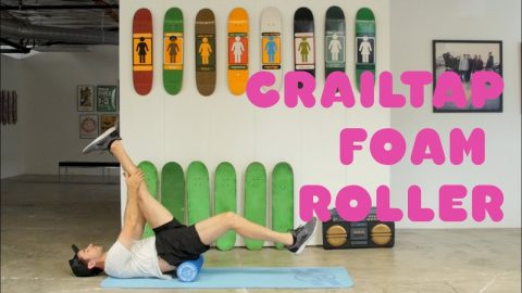 Mike Carroll and The Crailtap Foam Roller | Available Now! - crailtap