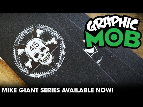 Mike Giant Series: Graphic MOB Grip | Talkin' MOB - Mob Grip