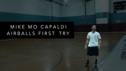 Mike Mo Capaldi Airballs First Try - Mikey Taylor