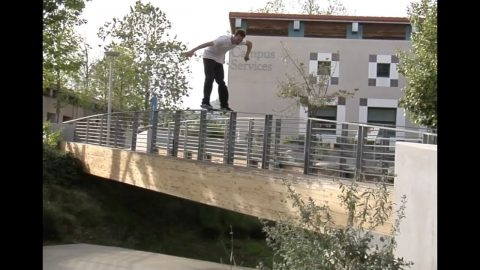 Mike Patterson Boardslide Bridge Raw Cut | E. Clavel